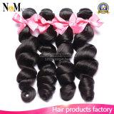 Menschliche Großhandelsjungfrau-brasilianisches Haar mit Qualität und preiswertem Preis
