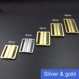 clip en métal d'or de vêtements de bain de 40mm dans l'épreuve de l'eau