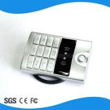 金属の情報処理機能をもったキーパッドRFIDの読取装置のアクセス制御最新の金属の接触キーパッドとの単一のスマートカードのドアのアクセス制御