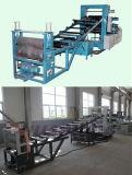 Ligne de machine de production d'extrusion de calendrier du panneau trois de feuille du PE pp