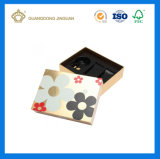 Коробка дух картона UV печатание цветастая бумажная с подносом PVC (с ясной крышкой окна PVC)