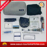 Customized Airline Amenity Kit Travel Sleeping Set Conforto de Inflight