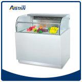 Refroidisseur/réfrigérateur commerciaux d'étalage de gâteau de cas d'exposition du dessert Cln1800