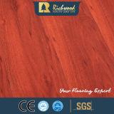 Revestimento estratificado laminado de madeira de madeira do vinil comercial do parquet do carvalho da pérola
