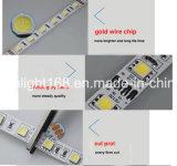 Tira del RGB LED para hacer publicidad del caso