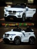 BMW 백색 색깔 원격 제어 플라스틱 장난감 전기 아이 차
