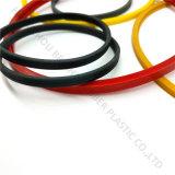 Anel-O quadrado do silicone para o uso da selagem personalizado na cor diferente