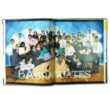 Qualitäts-Foto-Album-Ausgabe-Buch-kundenspezifisches Buch-Drucken