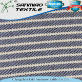 Tessuto a strisce del denim del cotone del poliestere della saia dello Spandex tinto filato di Changzhou