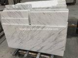 Естественная белая мраморный плитка сляба для украшения проекта