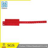 Ereignis-glättet kundenspezifisches Plastikvinylfestival Identifikation-ArmbänderWristbands