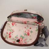 Wasserdichte weiße Wolken-Muster Belüftung-Segeltuch-Dame Handbag (99072-1)