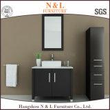 Cabinet de salle de bains en bois massif européen
