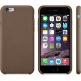 Caixa protetora de couro ultra magro do telefone de pilha do plutônio para o iPhone 7