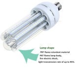 tipo proyector de 24W U de la luz de techo de los bulbos E27 del maíz del bulbo 4u AC85-265V de la lámpara SMD 2835 del tubo LED
