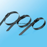 High Corrosion Resistant Stainless Steel Coated Ball Locking Cable Tie