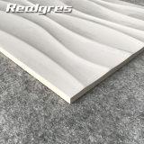 Плитки стены волны белые ровные керамические крытые застекленные, оптовик 300X600 керамических плиток