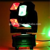 Rotella calda 8*10W 4 del LED in 1 indicatore luminoso mobile della discoteca della testa DMX DJ di RGBW