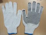Перчатка перчатки безопасности перчатки хлопка дешевая работая