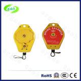 Het nieuwe Rechte Verticale In evenwicht brengende Ergonomische Hangen Intrekbare 0.5-1.5kg van de Houder van de Machine