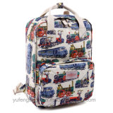 Retro Floral Backpack canvas Bags Fashionable farrowed Waterproof Backpack Shoulders rag top farrowed Yf-Lb1698