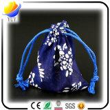 Sac à provisions pliable non tissé coloré de première pente et sac de cadeau estampé par coutume promotionnelle
