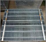 Reja galvanizada sumergida caliente del acero de la plataforma de la prolongación del andén