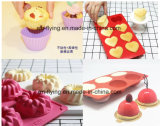 食品等級の焦げ付き防止の長方形球のシリコーンチョコレート型、焼ける型、ケーキ型