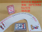 No. 978 Paper Poker Playing Cards for Casino
