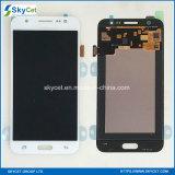 SamsungギャラクシーJ5 J5008 SmJ500f J500fのためのLCD表示のタッチ画面