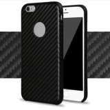 Carbon Fiber PU Hard Case for iPhone 6s Plus
