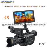 7 video 1920X 1200 del campo HD della macchina fotografica di pollice