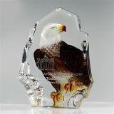 Personnaliser la récompense acrylique claire du trophée Ad-152