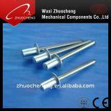 Rivet d'abat-jour d'acier inoxydable/aluminium DIN7337
