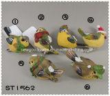 Decoratie 6cm van Kerstmis Vogels met Klem