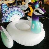 水膨脹可能な白鳥のフラミンゴのユニコーンの孔雀の浮遊プールのおもちゃの浮遊物