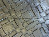 Couro a favor do meio ambiente da pérola do PVC para o saco da forma/Upholstery do sofá/mobília