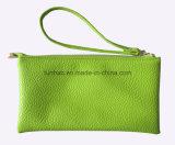 Sp002 Kleine Dame Bag/Dubbele Open Handbediende Zak Inside/PU
