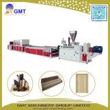 Extrudeuse en Plastique de Production de Porte Large de Profil de PVC WPC Faisant la Machine