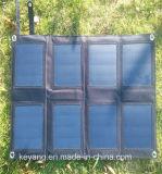 25W 여행 야영을%s Foldable 태양 전지판 힘 건전지 비용을 부과 부대