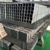 ASTM A500 GR. uma tubulação quadrada de aço preta com superfície do petróleo