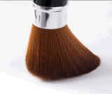 OEM / ODM Aceptable pelo sintético Tubo flexible Brocha para rubor.