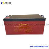 La batterie élevée de gel de longue vie du poste la plus neuve 12V100ah Tempreature de Cspower