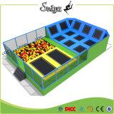 Mini trampoline de fitness populaire avec une fosse en mousse pour enfants