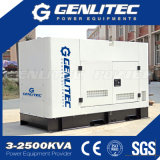 Gerador silencioso super do diesel do motor CZ380q 10 kVA de Changchai