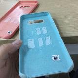 小売りボックスが付いているAppleのiPhone 6 7plus SamsungギャラクシーS8+ S8電話シリコーンカバーのため(終わりに柔らか触れれば膚触りがよい)