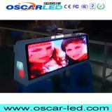 Taxi commercial de toit de taxi du dessus DEL du taxi P5 annonçant l'Afficheur LED visuel de cadre