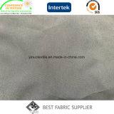 Tela micro 100% de la piel del melocotón de la tela de la fibra del poliester 75D*150d