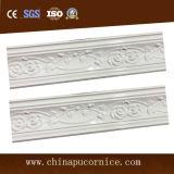Moldeado popular de la cornisa del techo de la PU del cm Rose de la superficie brillante de alta densidad 10