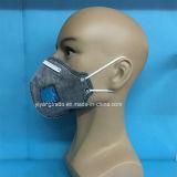 Mascherina attiva piegata del carbonio di Securiy con la valvola